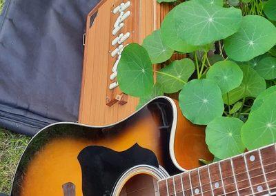 La Tsampa guitar + shruti - Mike _ Tenzen