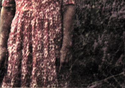 Phiippe Colard robe sur fleurs - Philippe Colard