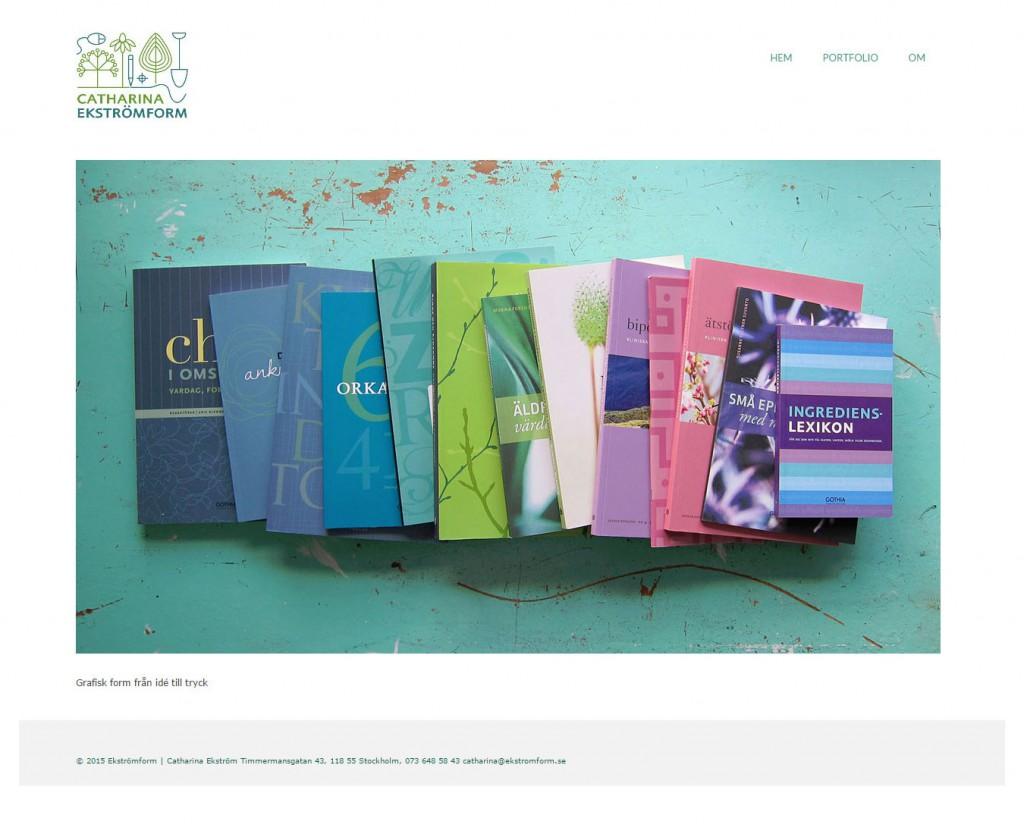 Ekströmform hemsida av webbduon
