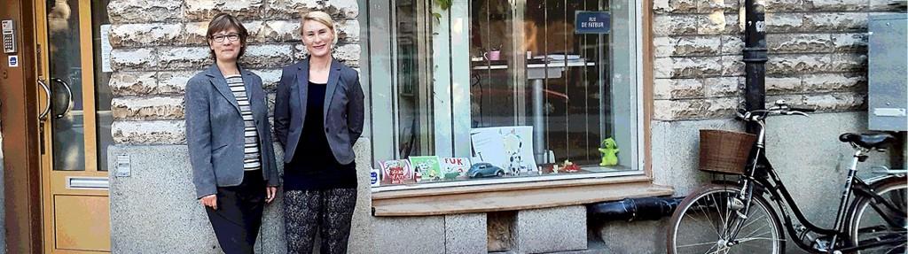 Webbduon Anna & Kati på Timmermansgatan gör hemsidor med responsiv design