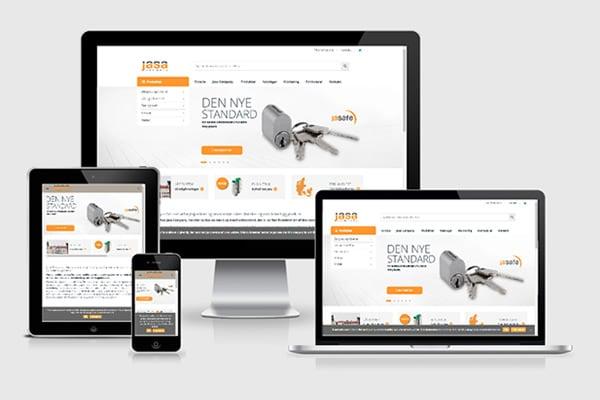 Wordpress webløsning for Jasa Company