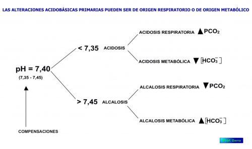 Alteraciones del equilibrio ácido base