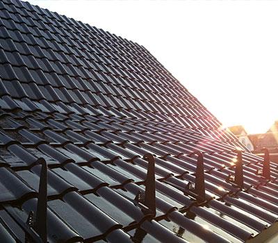 Neu gedecktes Dach