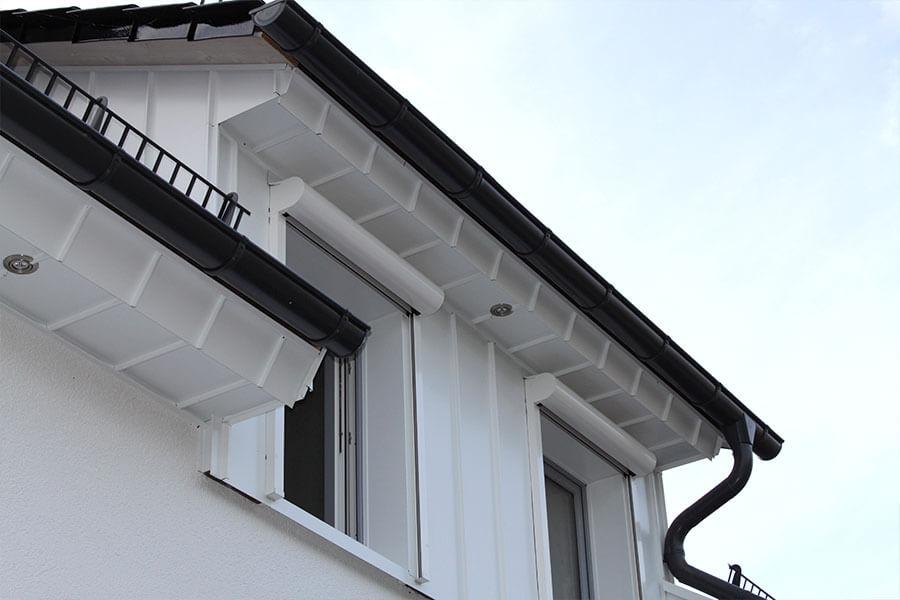 Haus mit neuer Gaube