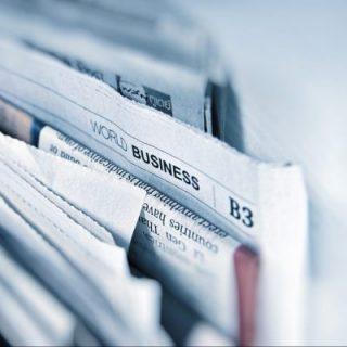 Öffentlichkeitsarbeit, Bild zeigt Zeitungen; WEISS PR & MEDIA e.U., PR-Agentur