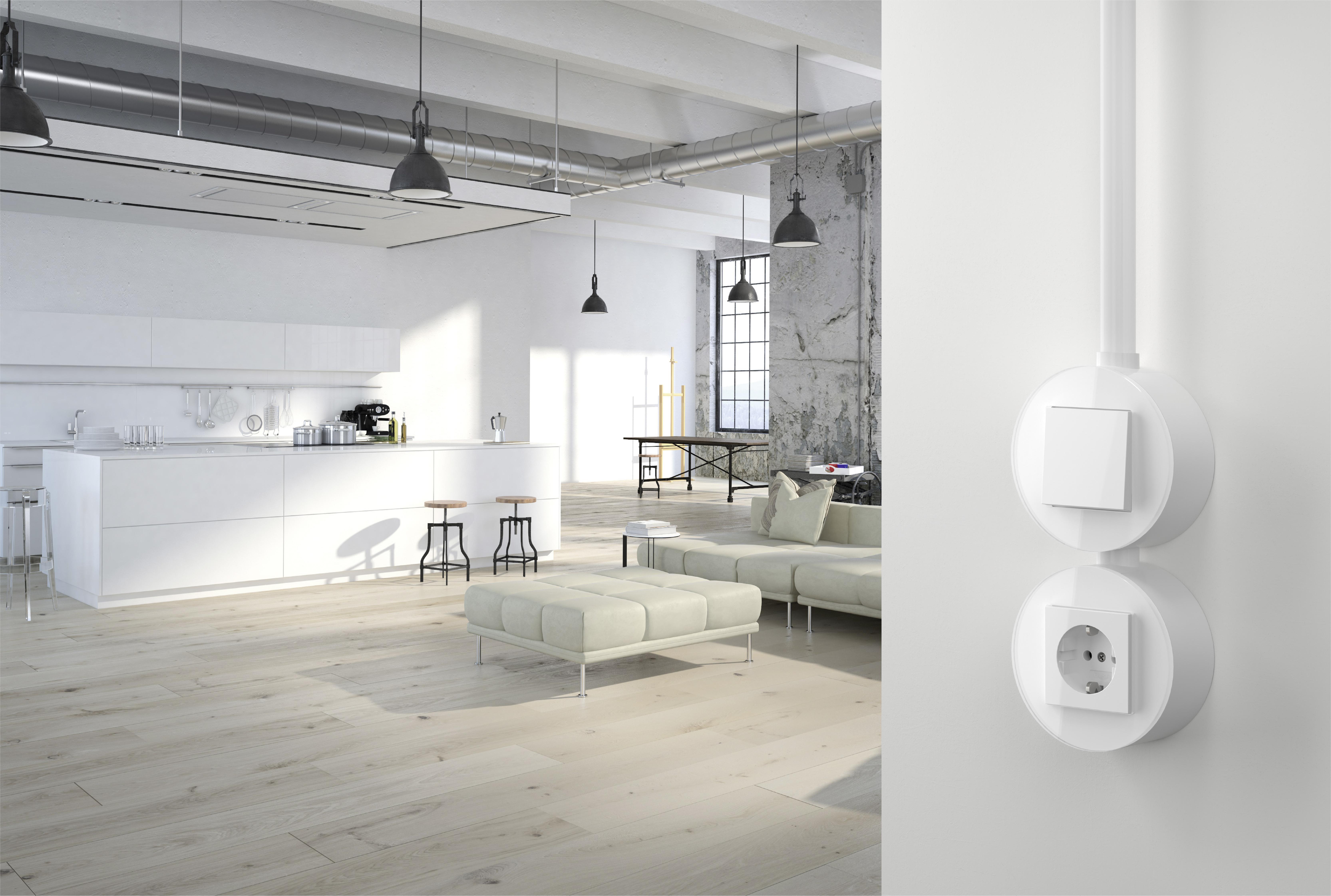 Gira-Studio-1 - Schalterprogramme von Gira bei der Design District 1010 in Wien im Oktober 2019