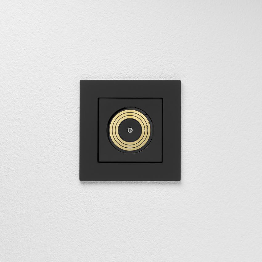 Plug & Light Lichtsteckdose von Gira, schwarz