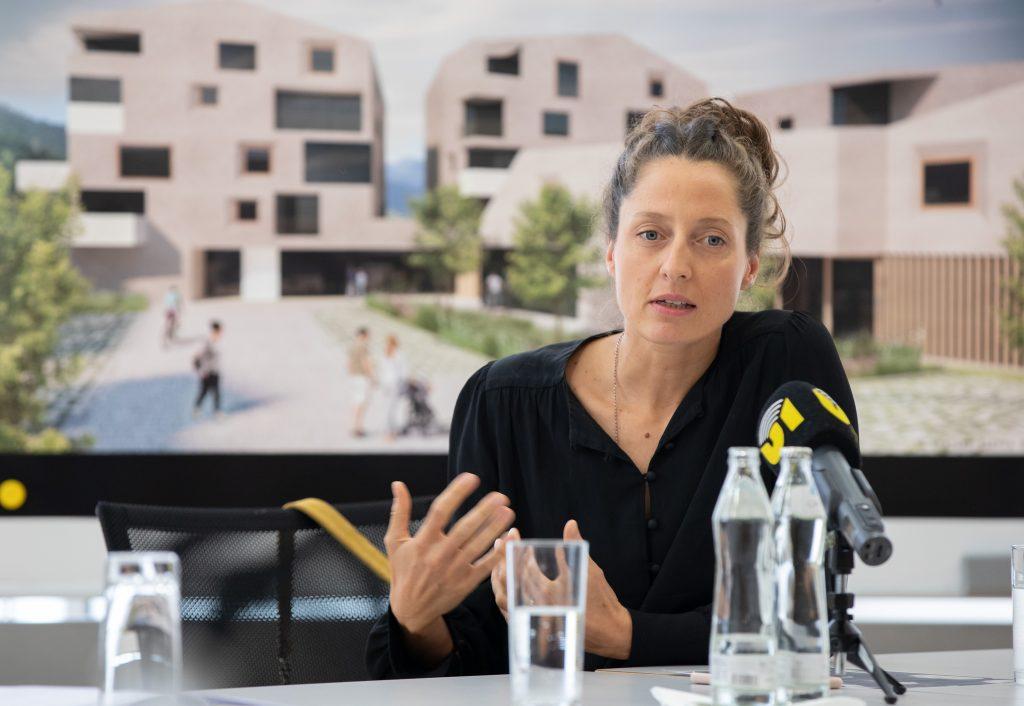 Quartier am Raiffeisenplatz, Architektin Silvia Boday