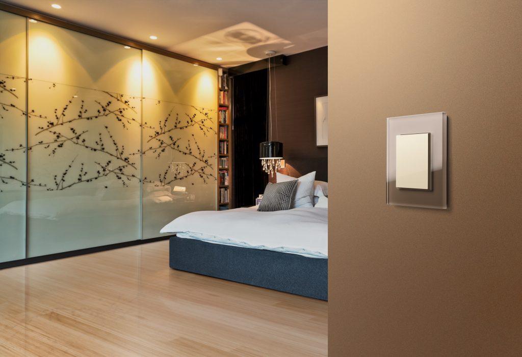 Wohndesign Lichtschalter von Gira aus Glas