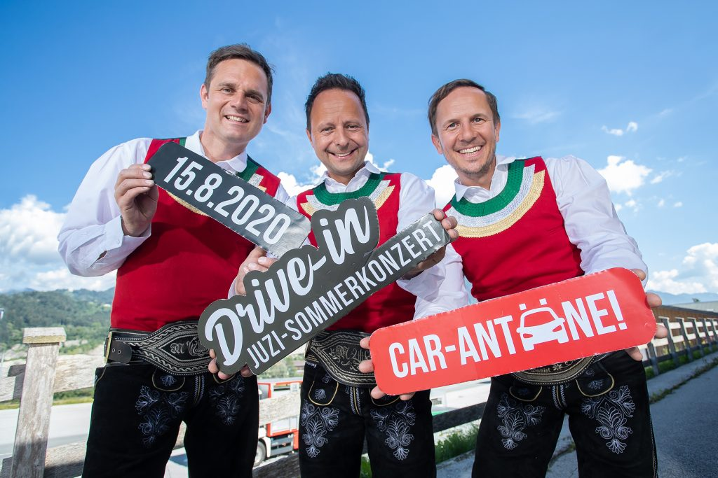 Drive-in-Konzert Die jungen Zillertaler am 15. August