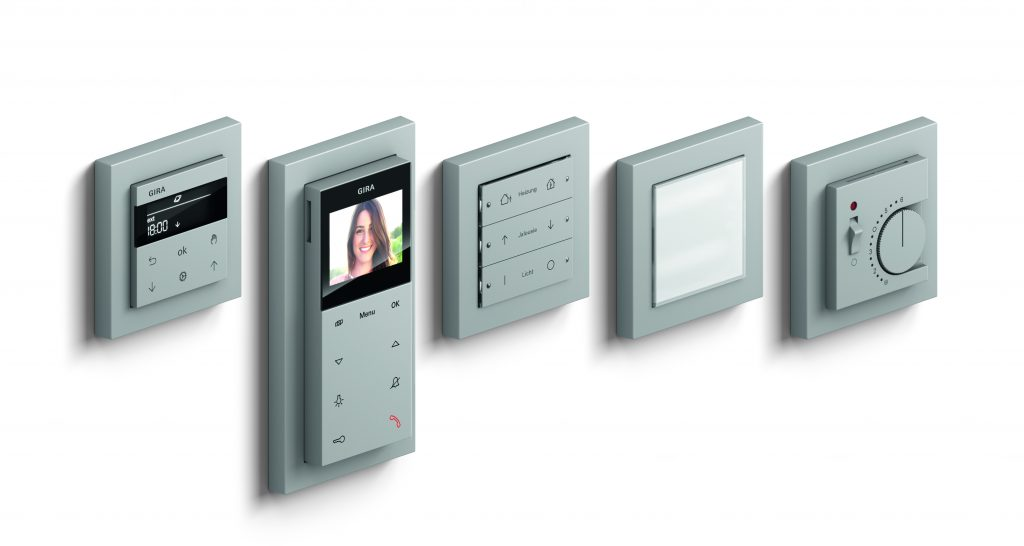 Neue Farbe Grau matt für Gira E2 und System 55