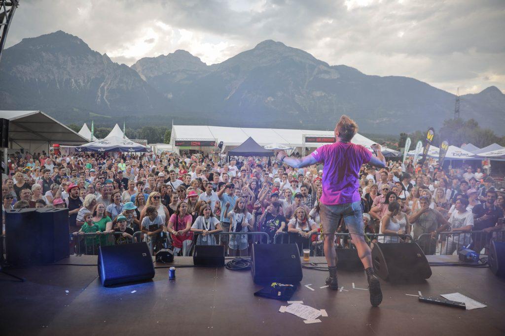 Matty Valentino live - Auftritt bei JUZIopenair