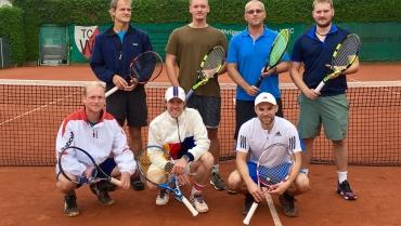 Erfolgreiche Saison für Weißenburger Tennisherren