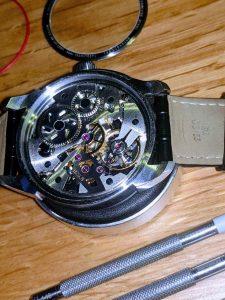 Tissot watch service T-Complication Squelette Wellingtime
