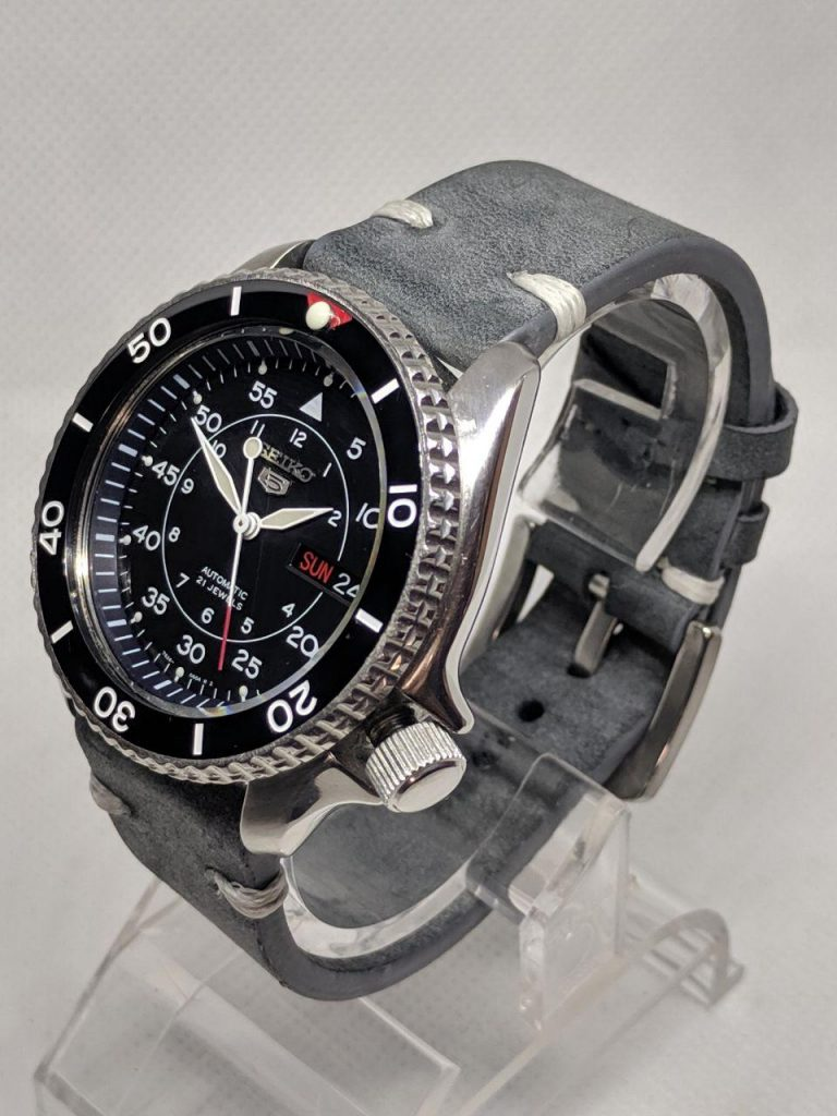 Seiko SKX SNK Military watch Mod