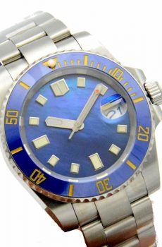 blue ocean sub watch - Blu eblu eand more blue for the chelsea or everton fan - wellingtime affordable custom watches