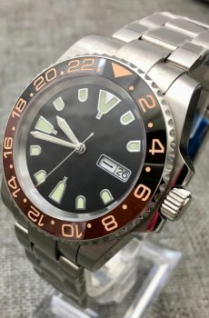 rootbeer dive watch - custom dive watch modified uk Seiko, Swiss and sterile mods.