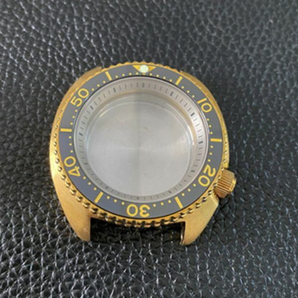 bronze turtle case - wellingtime seiko mods uk