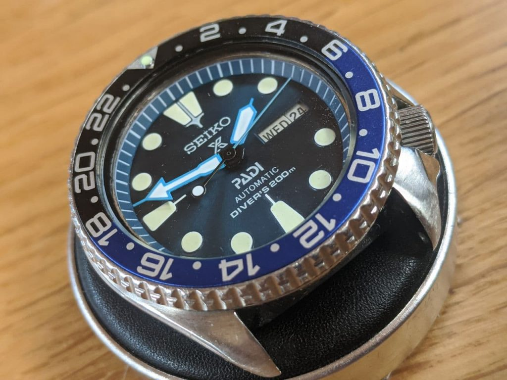 Seiko 6309 Mod -The watch has been rebuilt with new parts. - After work by wellingtime -