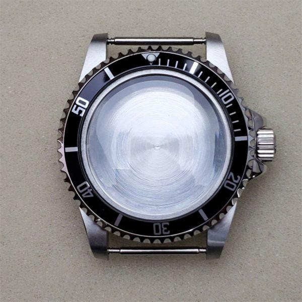 submariner diver case vintage style nh36 black insert