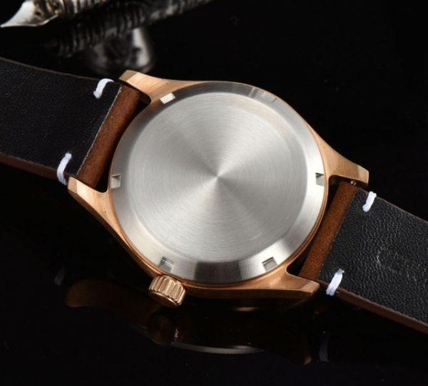 Bronze Pilot Watch rear