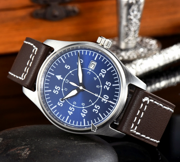 blue pilot watch