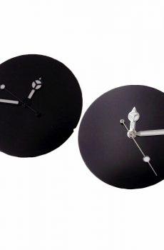 matt black dial
