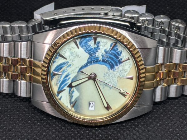The great wave watch - Seiko Mods 7s26-3119