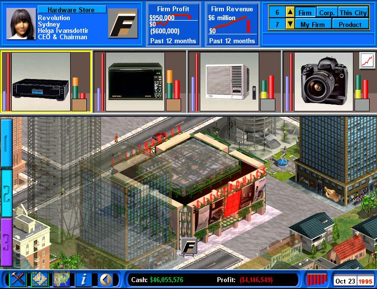 Capitalism 2 screenshot from Humble Choice April