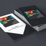 100 stk. Tykt premium Visitkort 780 g/m²