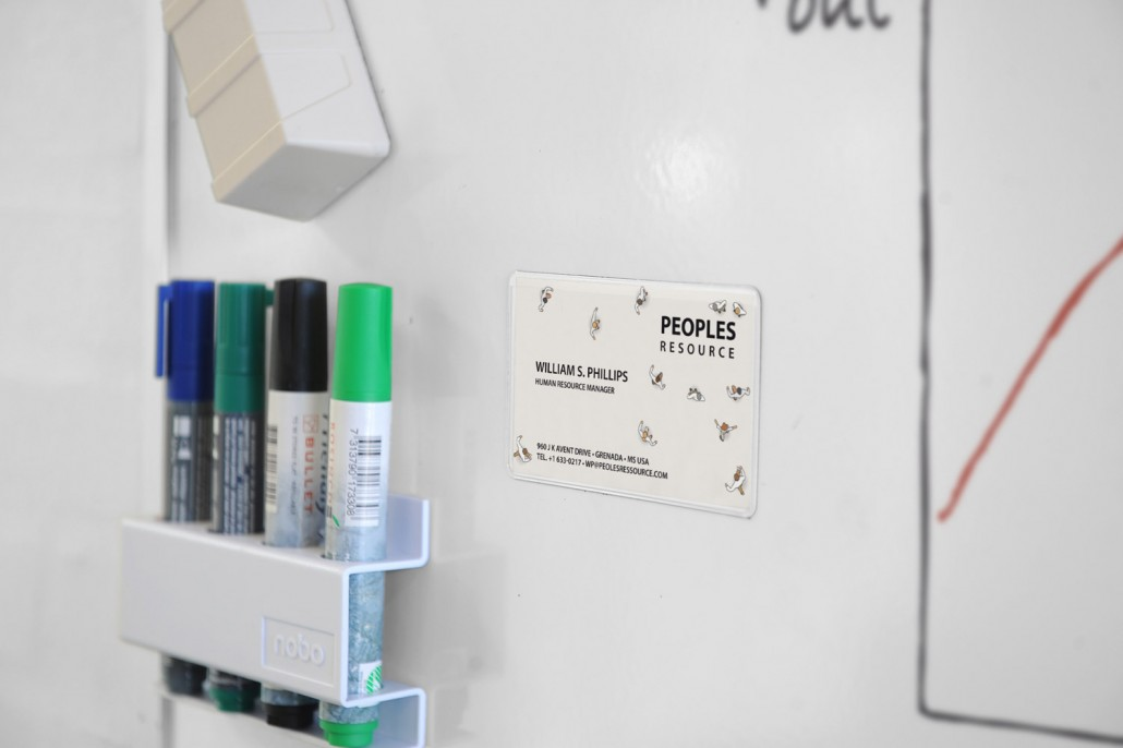 Magnetic Business Card3