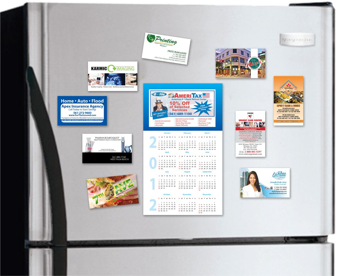 Magnetic Business Card4