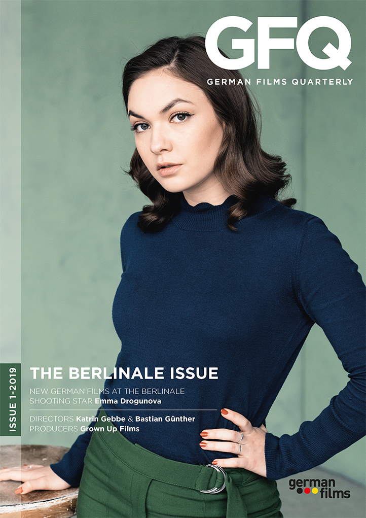 Cover German Films Quarterly 1-2019
