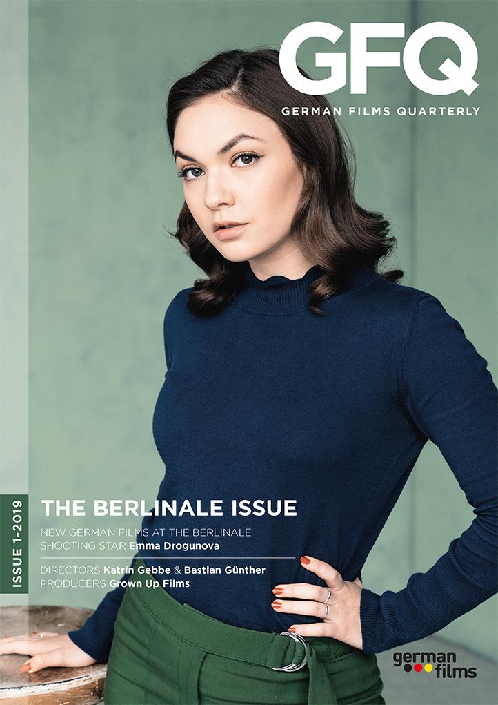 Cover German Films Quarterly 1-2019