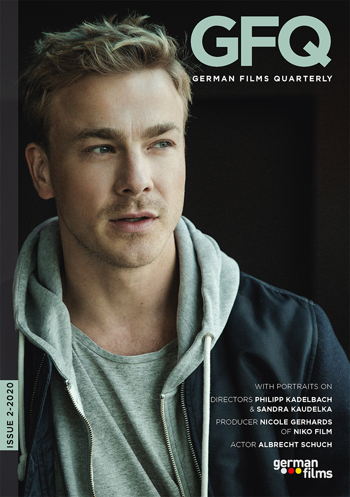 Cover German Films Quarterly 2-2020