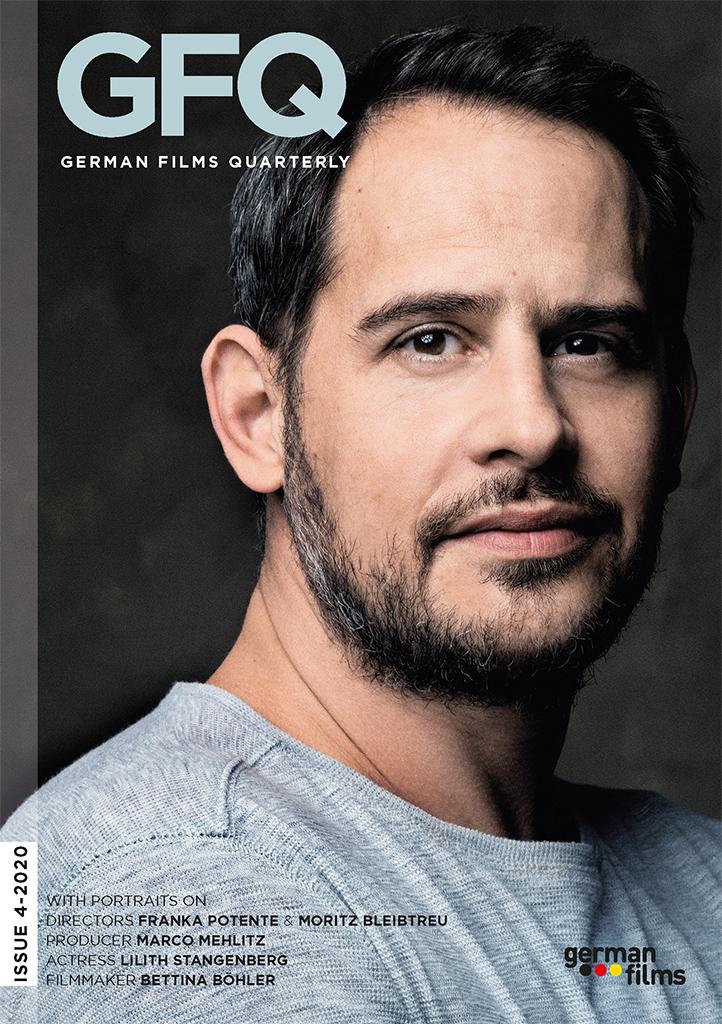 Cover German Films Quarterly