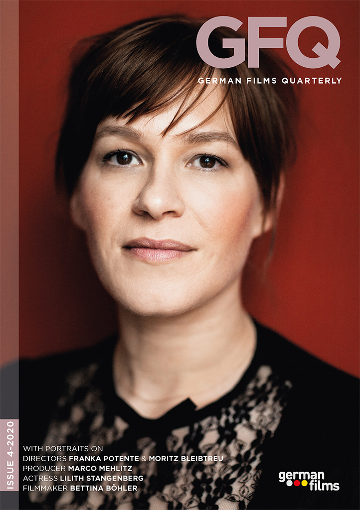 Cover German Films Quarterly