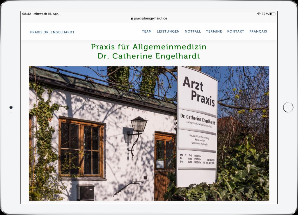 Webdesign Praxis München-Allach