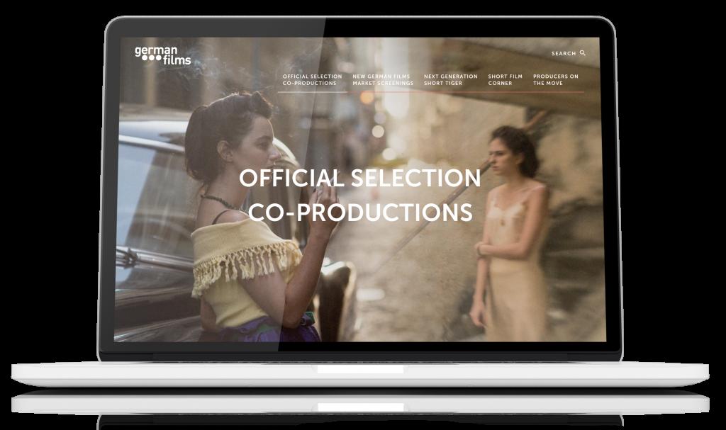 Website German Films in Cannes