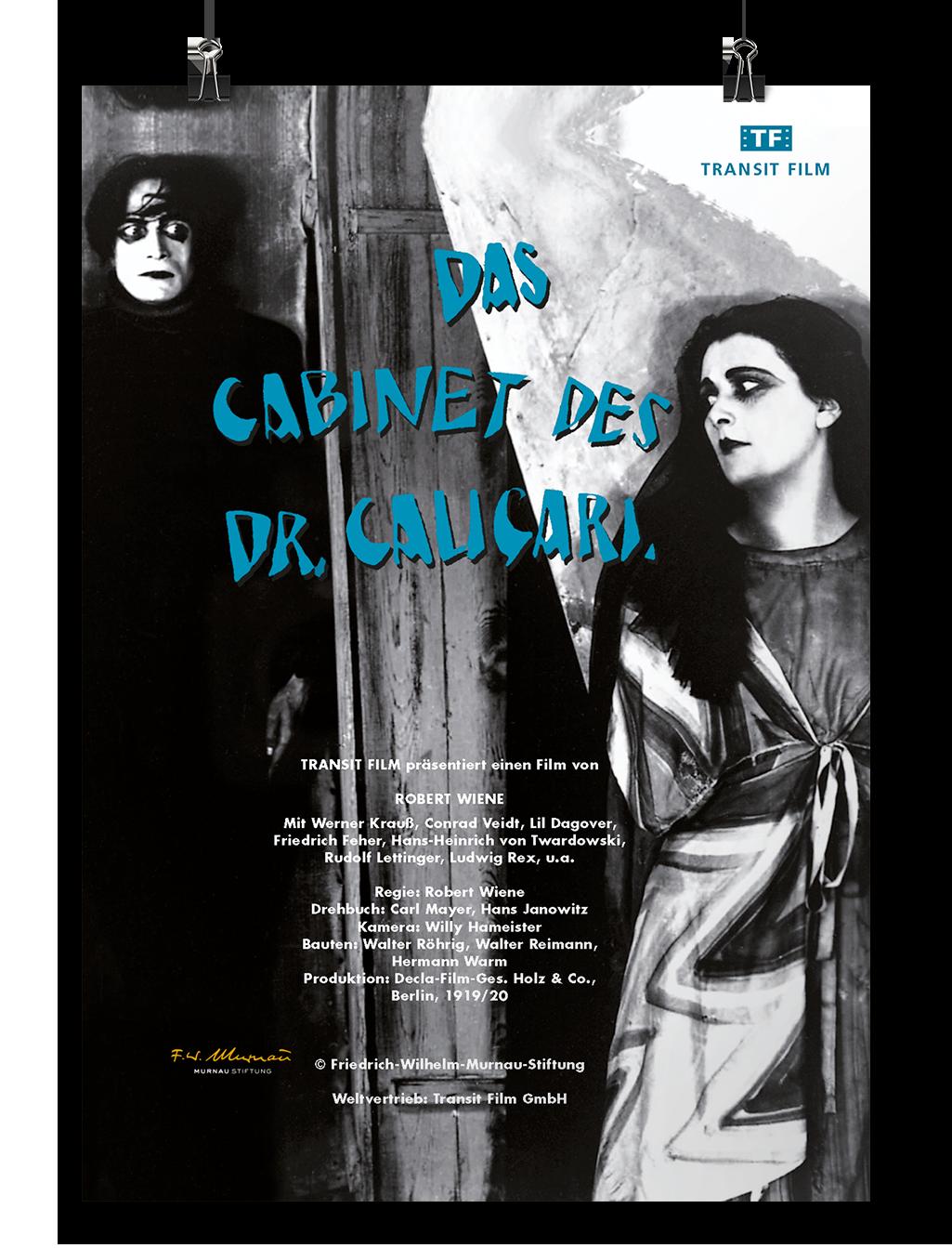 Poster Das Cabinet des Dr. Caligari