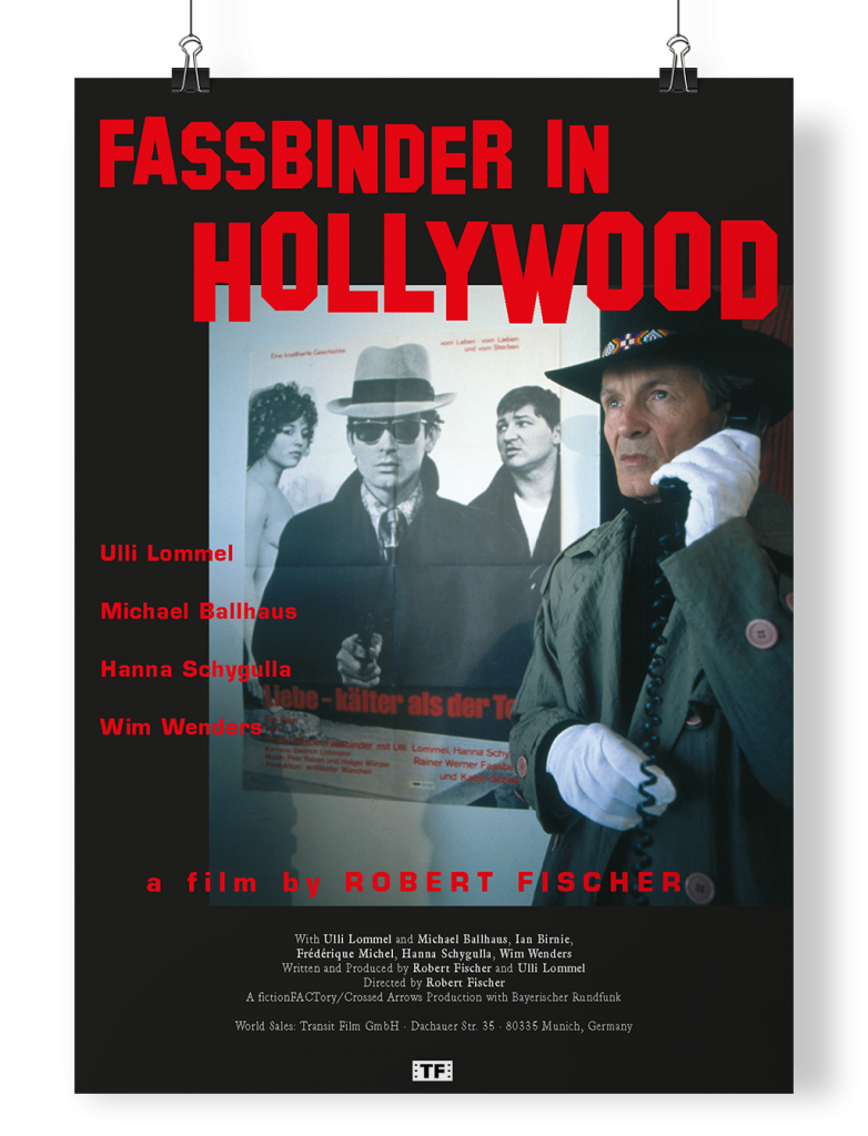 Poster Fassbinder in Hollywood