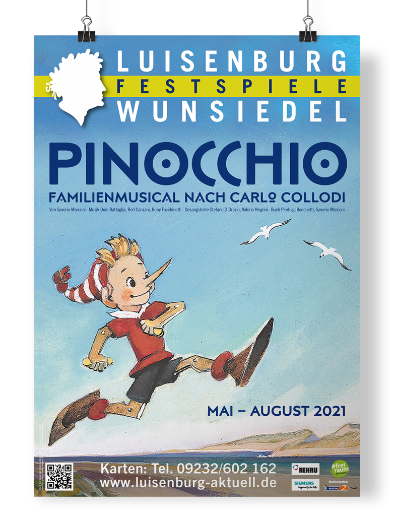 Plakat Luisenburg Festspiele Wunsiedel