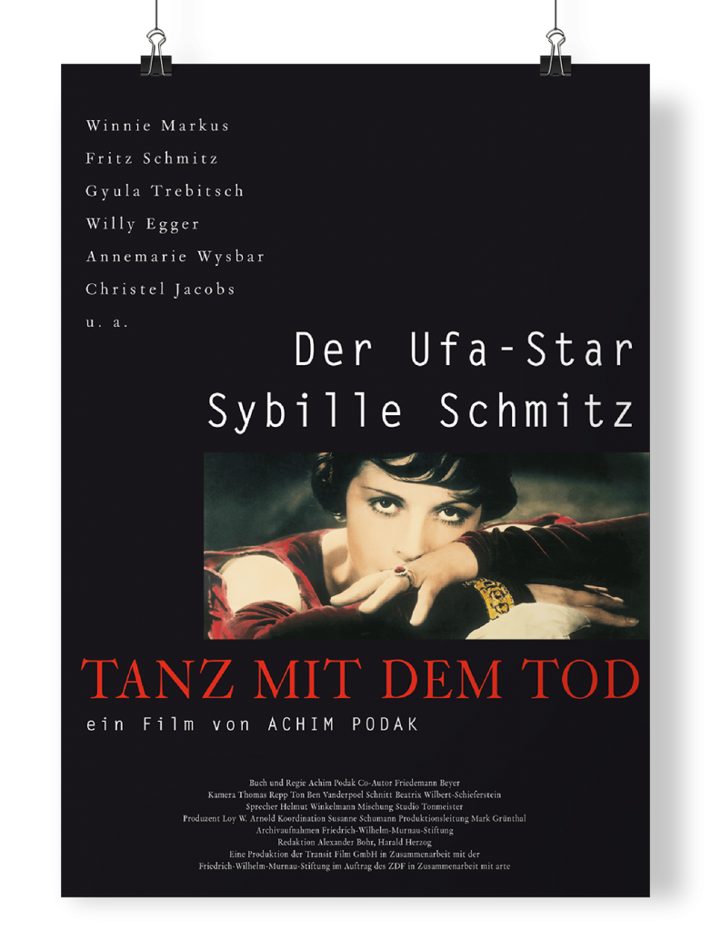 Poster Der Ufa-Star Sybille Schmitz