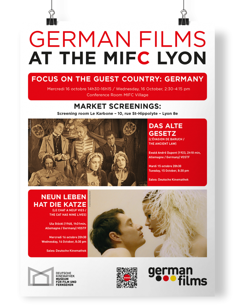 Poster German Films Lyon