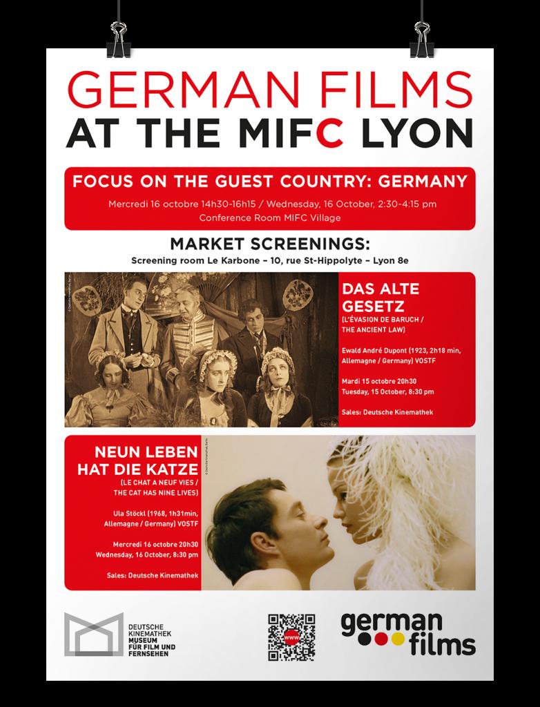 Poster German Films Lyon
