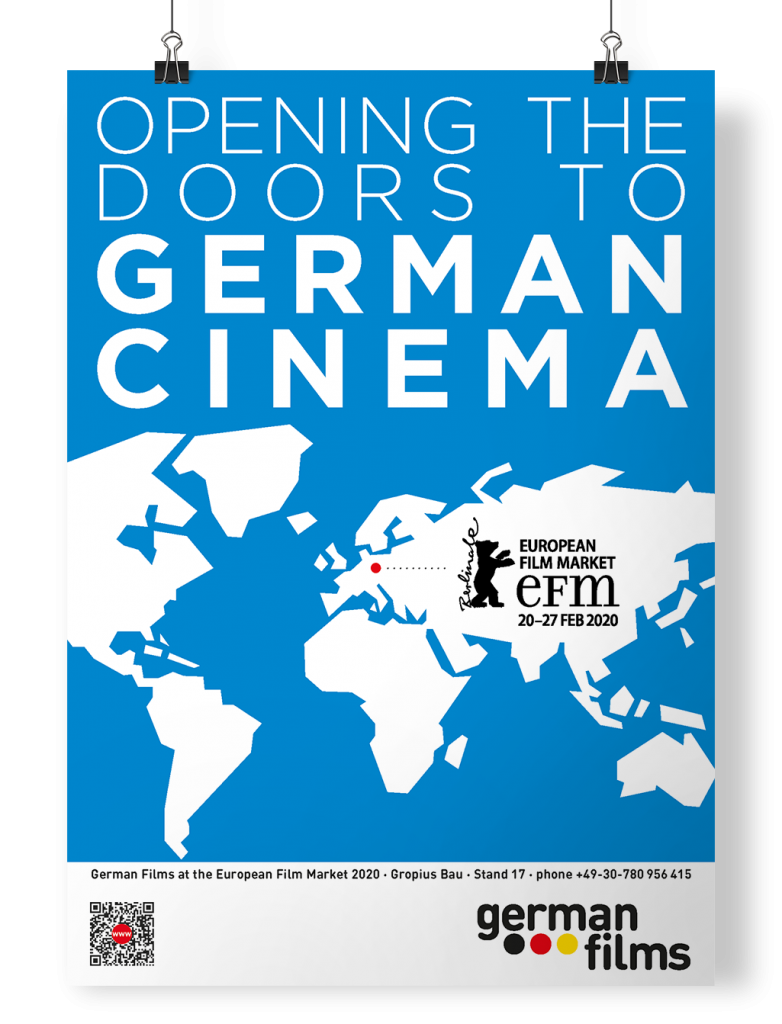 Poster German Films in Berlin