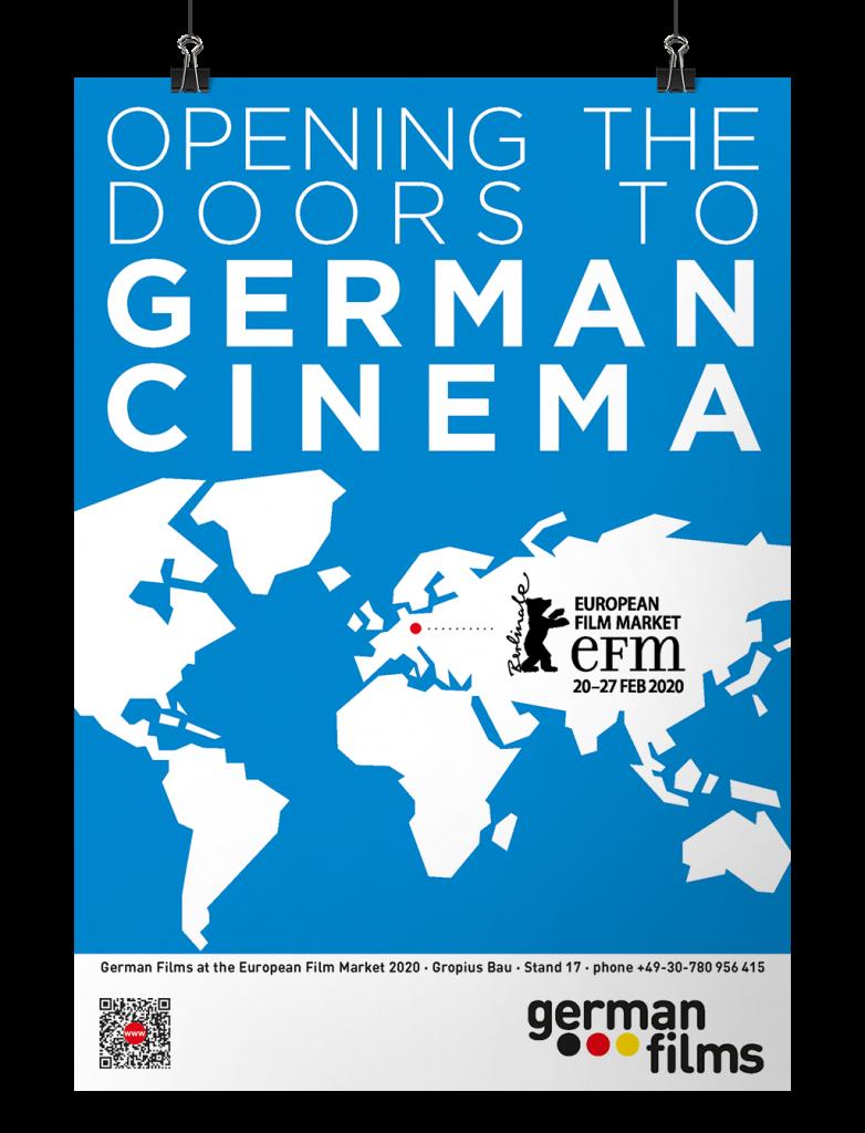 Poster German Films in Berlin