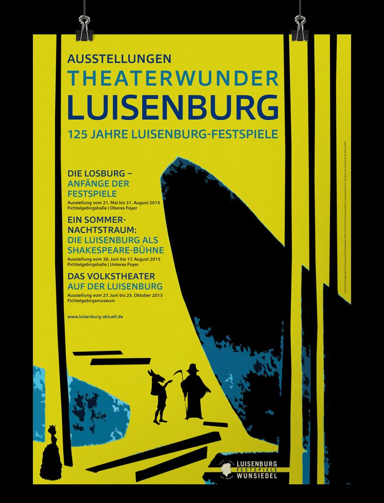 Plakat Theaterwunder Luisenburg