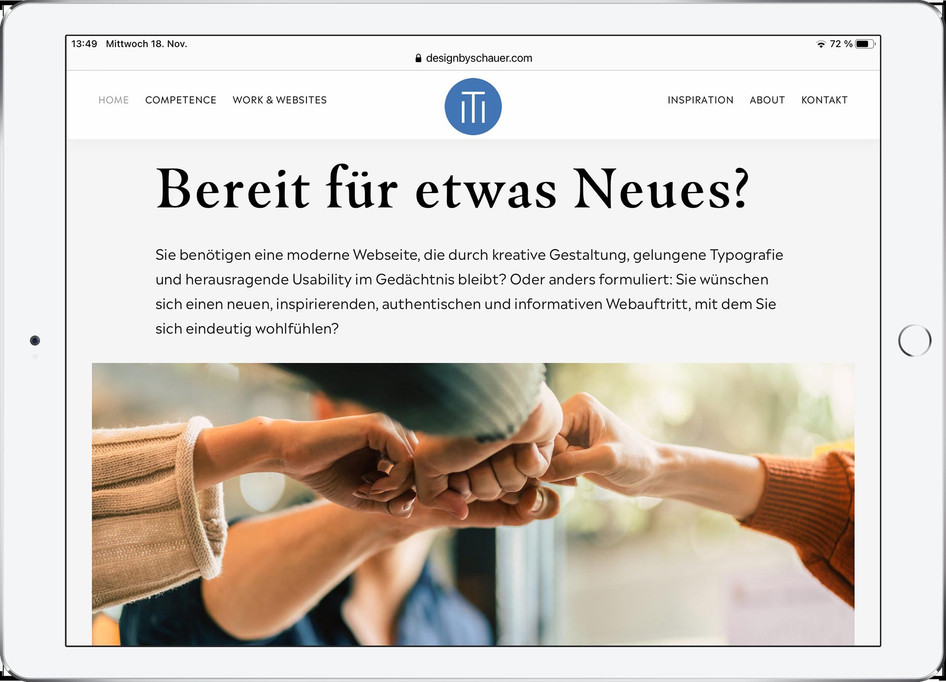 Website designbyschauer.de