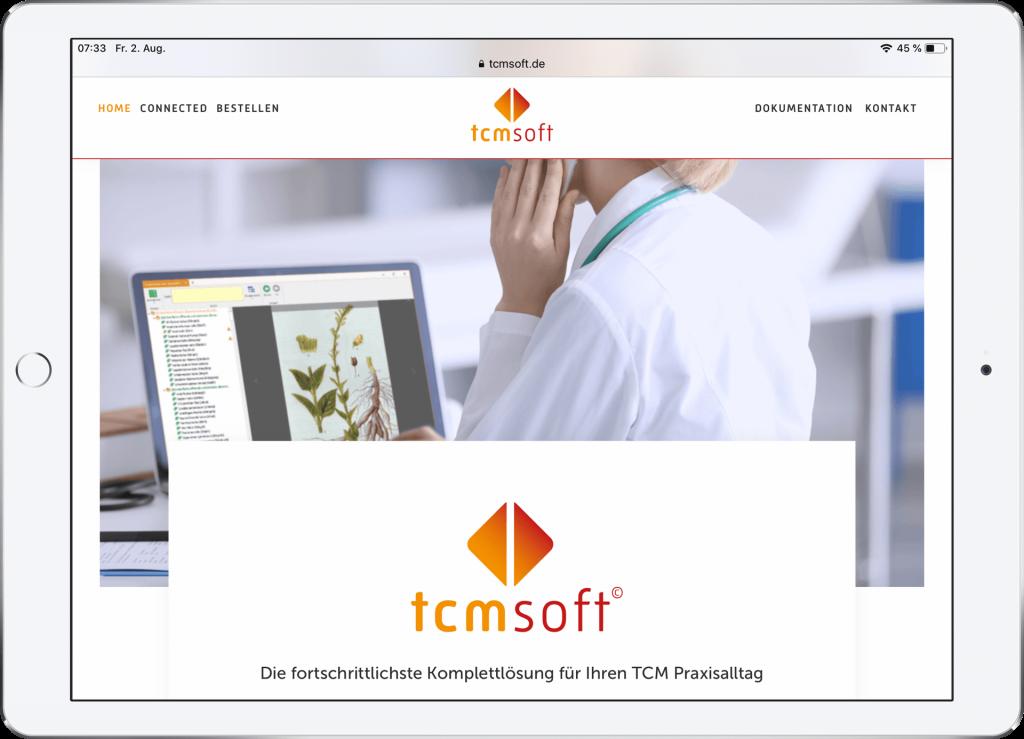 Webdesign TCM Soft